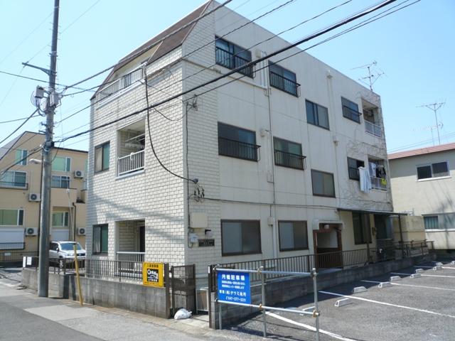 千葉県八千代市、勝田台駅徒歩4分の築28年 3階建の賃貸マンション