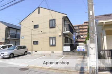 千葉県船橋市、薬園台駅徒歩16分の築23年 2階建の賃貸アパート