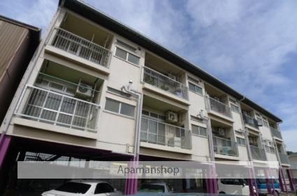 千葉県船橋市、習志野駅徒歩9分の築38年 3階建の賃貸アパート