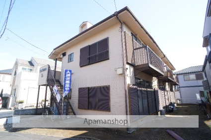 千葉県船橋市、高根公団駅徒歩15分の築32年 2階建の賃貸アパート