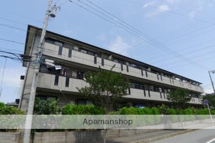 千葉県八千代市、勝田台駅徒歩10分の築14年 3階建の賃貸アパート