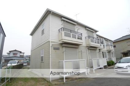 千葉県八千代市、京成大和田駅徒歩5分の築21年 2階建の賃貸アパート