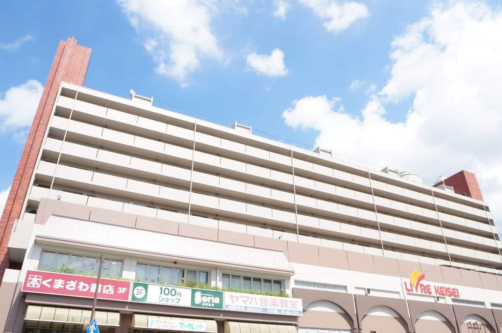 千葉県八千代市、勝田台駅徒歩1分の築44年 10階建の賃貸マンション