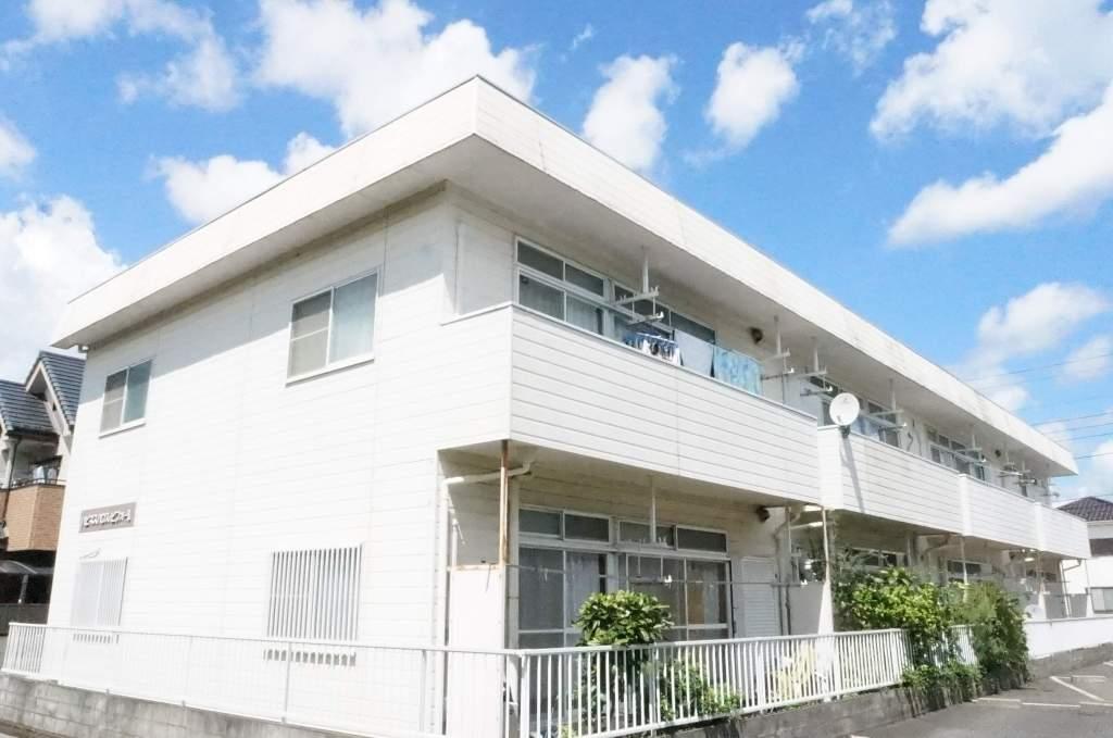 千葉県八千代市、勝田台駅徒歩14分の築23年 2階建の賃貸アパート