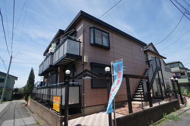 千葉県八千代市、勝田台駅徒歩10分の築17年 2階建の賃貸アパート