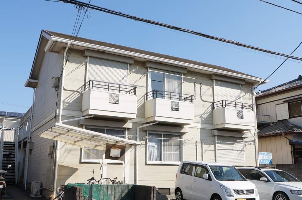 千葉県八千代市、勝田台駅徒歩6分の築22年 2階建の賃貸アパート