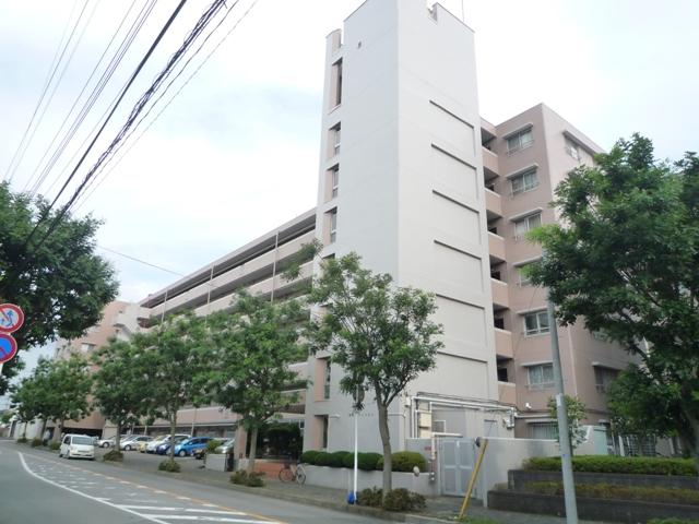 千葉県八千代市、勝田台駅徒歩8分の築43年 7階建の賃貸マンション