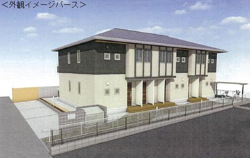 千葉県船橋市、北習志野駅徒歩18分の新築 2階建の賃貸アパート