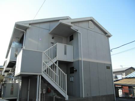 千葉県船橋市、前原駅徒歩12分の築22年 2階建の賃貸アパート