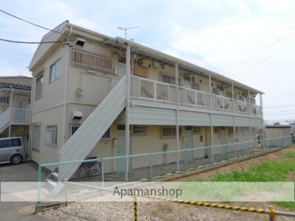 千葉県習志野市、津田沼駅徒歩24分の築39年 2階建の賃貸アパート