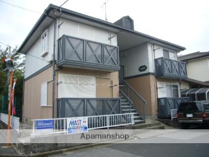 千葉県八千代市、勝田台駅徒歩10分の築22年 2階建の賃貸アパート