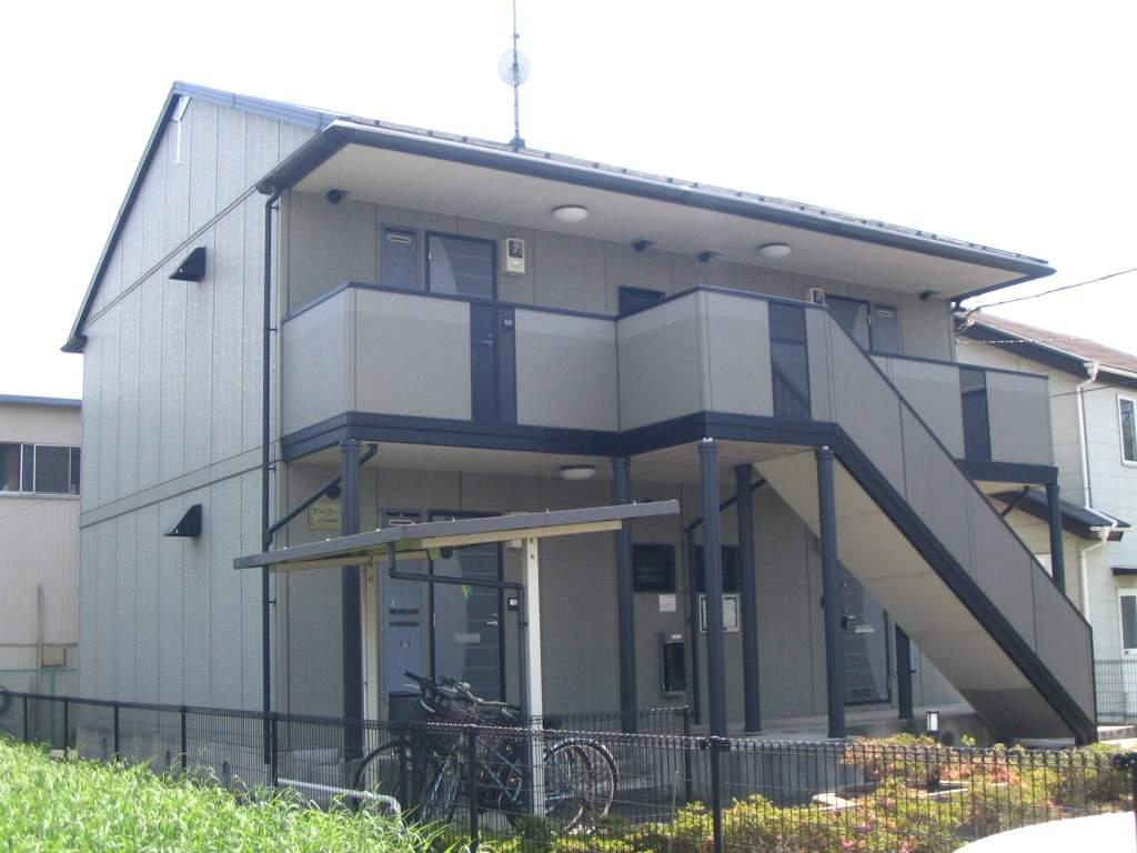 千葉県八千代市、八千代台駅徒歩22分の築17年 2階建の賃貸アパート