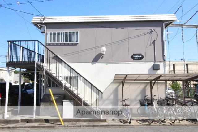 千葉県船橋市、北習志野駅徒歩21分の築28年 2階建の賃貸アパート