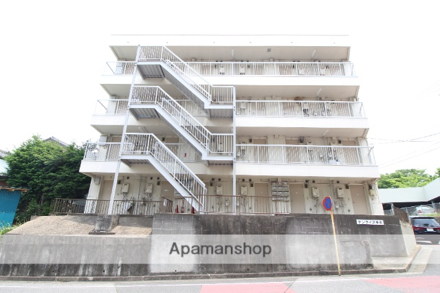 千葉県船橋市、北習志野駅徒歩28分の築34年 4階建の賃貸マンション