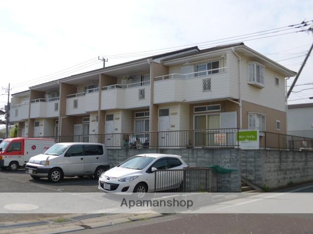 千葉県船橋市、習志野駅徒歩10分の築23年 2階建の賃貸テラスハウス
