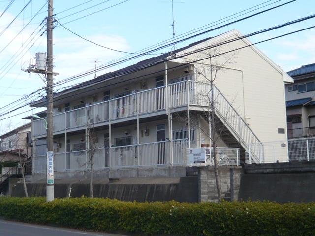 千葉県佐倉市、京成臼井駅徒歩16分の築29年 2階建の賃貸アパート