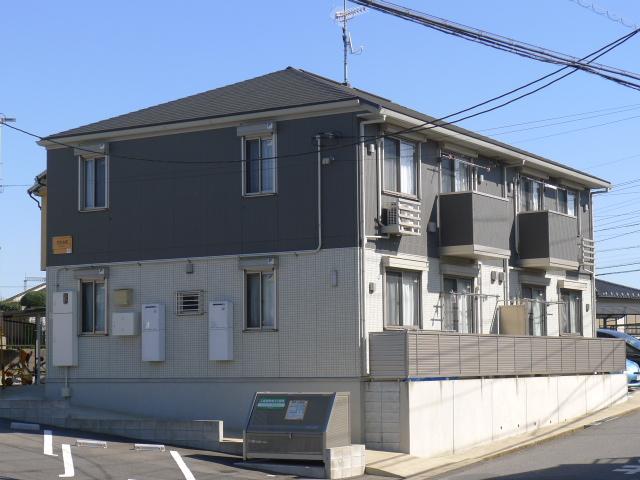 千葉県佐倉市、佐倉駅ちばグリーンバスバス11分第二工業団地下車後徒歩6分の築5年 2階建の賃貸アパート