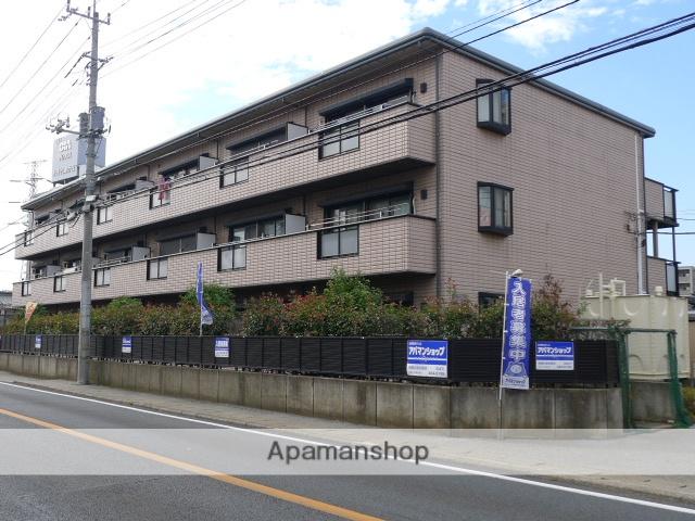千葉県八千代市、船橋日大前駅徒歩21分の築22年 3階建の賃貸マンション