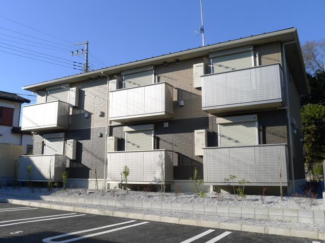 千葉県佐倉市、佐倉駅徒歩40分の新築 2階建の賃貸アパート