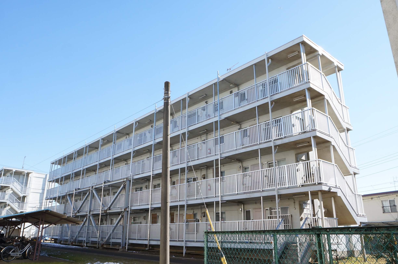 千葉県八千代市、勝田台駅徒歩7分の築53年 4階建の賃貸マンション