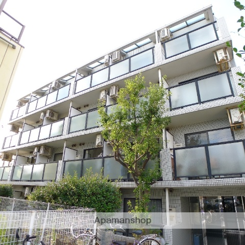 千葉県船橋市、習志野駅徒歩14分の築25年 4階建の賃貸マンション