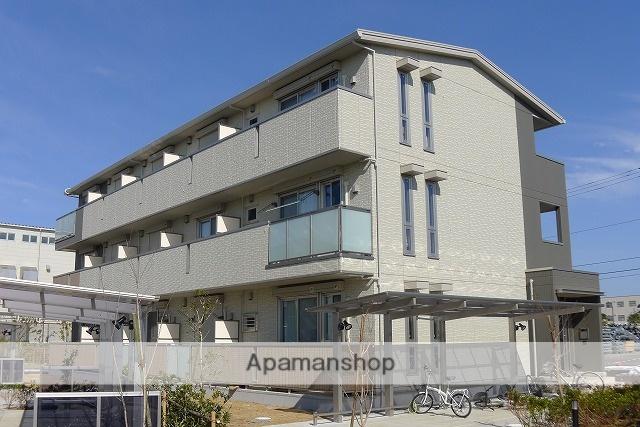 千葉県八千代市、船橋日大前駅徒歩27分の築4年 3階建の賃貸アパート