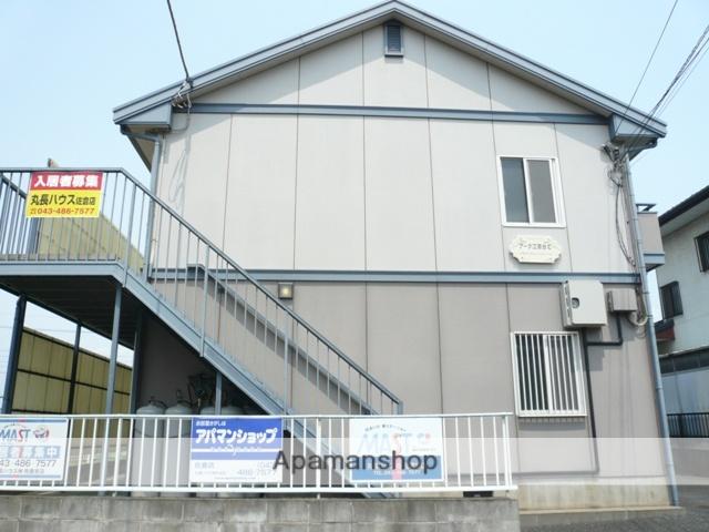 千葉県佐倉市、京成臼井駅バス10分江原台2丁目前下車後徒歩5分の築23年 2階建の賃貸アパート
