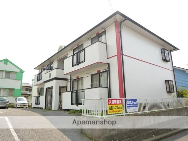 千葉県佐倉市、京成臼井駅徒歩13分の築25年 2階建の賃貸アパート
