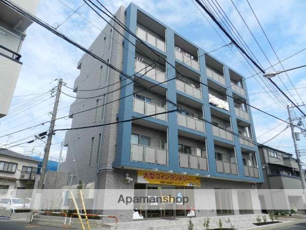 千葉県浦安市、浦安駅徒歩5分の築2年 5階建の賃貸マンション