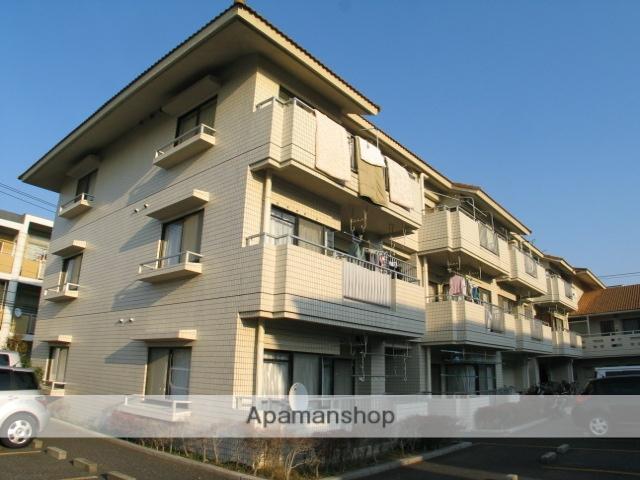 千葉県浦安市、新浦安駅徒歩23分の築28年 3階建の賃貸マンション