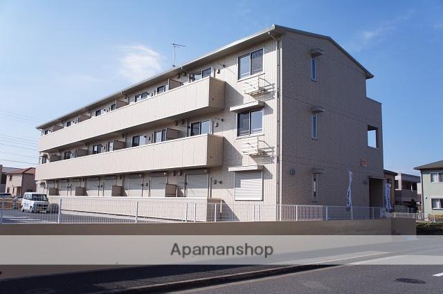 千葉県市原市、ちはら台駅徒歩7分の築4年 3階建の賃貸アパート