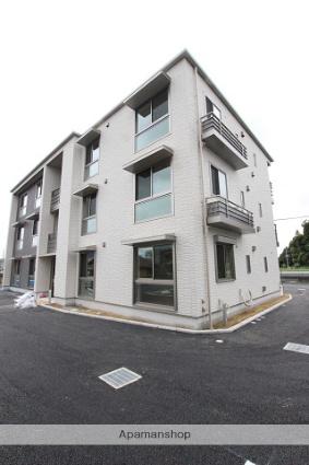 千葉県山武市、成東駅徒歩7分の新築 3階建の賃貸マンション
