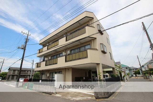 千葉県山武市、成東駅徒歩18分の築25年 3階建の賃貸マンション