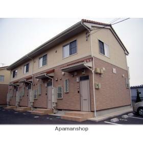千葉県東金市、東金駅徒歩7分の築10年 2階建の賃貸テラスハウス