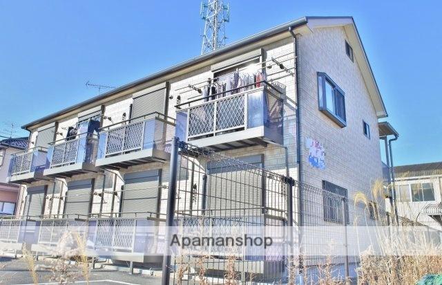 千葉県茂原市、茂原駅徒歩30分の築5年 2階建の賃貸アパート
