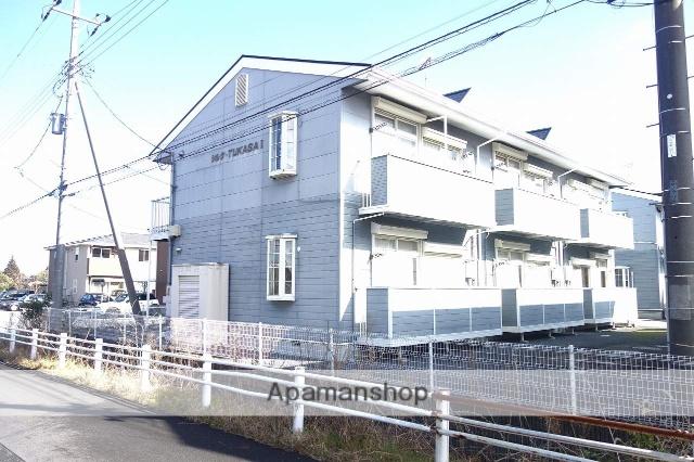 千葉県茂原市、新茂原駅徒歩4分の築21年 2階建の賃貸アパート