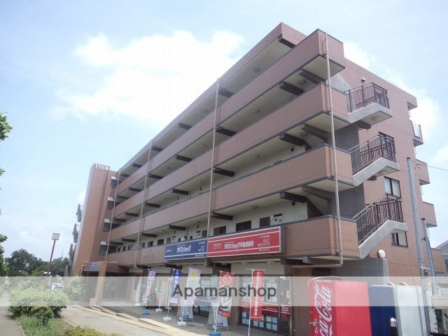 千葉県八千代市、京成大和田駅徒歩38分の築19年 5階建の賃貸マンション