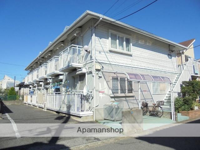 千葉県浦安市、新浦安駅徒歩15分の築25年 2階建の賃貸アパート