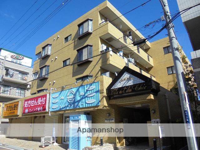 千葉県浦安市、新浦安駅徒歩10分の築29年 4階建の賃貸マンション