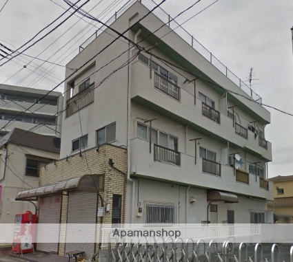 千葉県浦安市、浦安駅徒歩8分の築42年 3階建の賃貸マンション