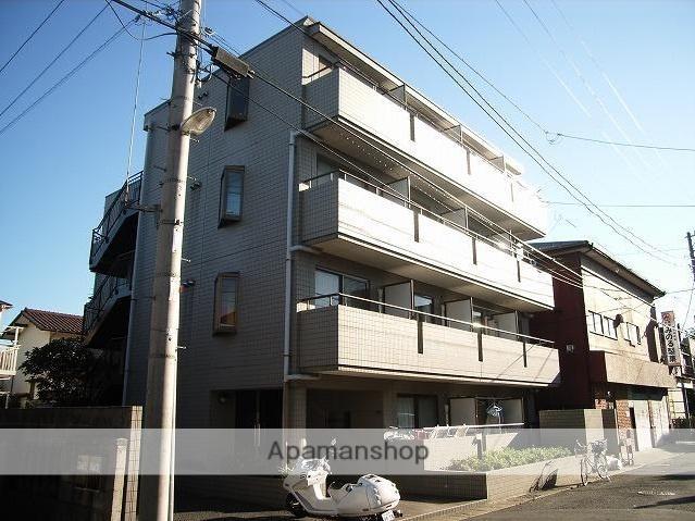 千葉県浦安市、新浦安駅徒歩12分の築25年 4階建の賃貸マンション