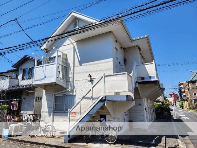 千葉県浦安市、新浦安駅徒歩8分の築25年 2階建の賃貸アパート