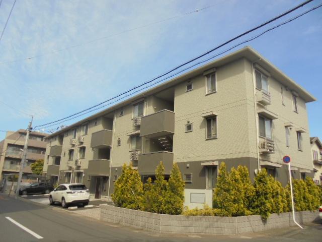 千葉県市川市、南行徳駅徒歩17分の築3年 3階建の賃貸アパート