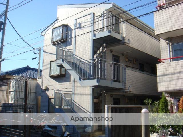 千葉県浦安市、浦安駅徒歩10分の築27年 3階建の賃貸マンション