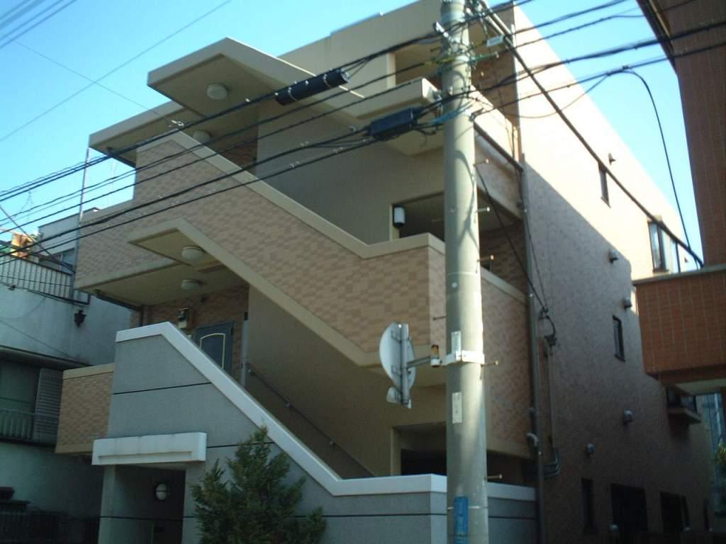 千葉県市川市、行徳駅徒歩15分の築14年 3階建の賃貸マンション