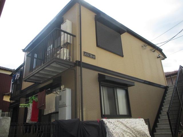 千葉県市川市、南行徳駅徒歩20分の築21年 2階建の賃貸アパート