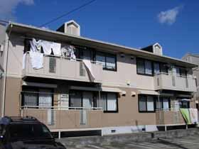 千葉県君津市、君津駅徒歩6分の築24年 2階建の賃貸アパート