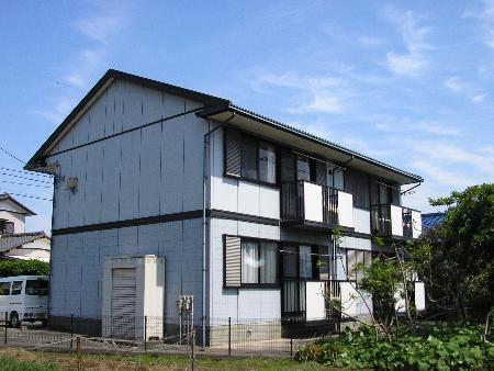 千葉県富津市、青堀駅徒歩14分の築20年 2階建の賃貸アパート