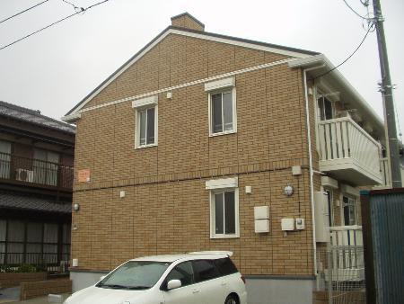 千葉県君津市、君津駅徒歩20分の築9年 2階建の賃貸アパート