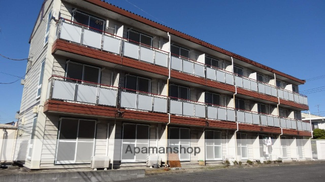 千葉県君津市、君津駅徒歩14分の築22年 3階建の賃貸マンション